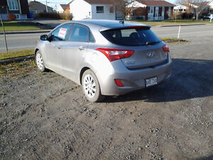2013 Hyundai Elantra OPTION GT. GE Berline
