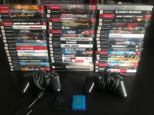 PlayStation 2 PS2 games / controllers / memory cards for sale