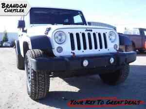 2015 Jeep Wrangler Unlimited Sport - Cruise Control