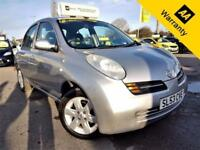 2003 NISSAN MICRA 1.4 SE 5D 88 BHP! P/X WELCOME+AUTO+45K MILES ONLY+GOOD S-HIST!