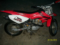 For sale CRF80 2007