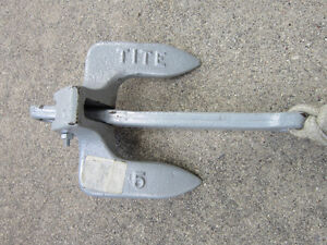 5  POUND  BOAT  ANCHOR