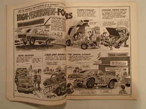 HOT ROD CARTOONS March 1972 number 45 Sarnia Sarnia Area image 6