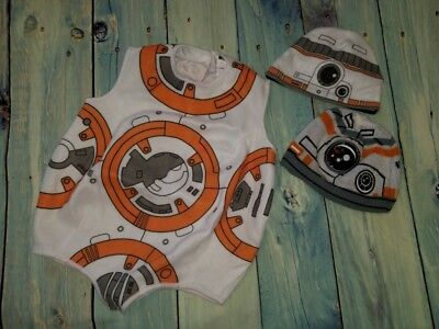 BB8 Disney Store Winter Hat/Beanie XS/S & Rubies Costume 4T Haloween](Haloween Stores)
