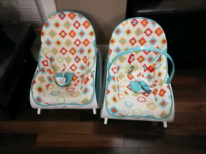 2x Fisher Price Chairs $60 for both