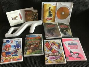 Skyward Sword, Wario Ware Smooth Moves, Zelda Twilight...