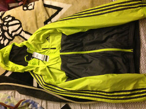 Brand new with tags adidas rain jacket SIZE XL St. John's Newfoundland image 1