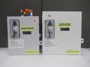 House Washer and Dryer Coin Kit Conversion