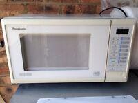Panasonic microwave.