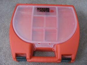 Black-n- Decker Storage case