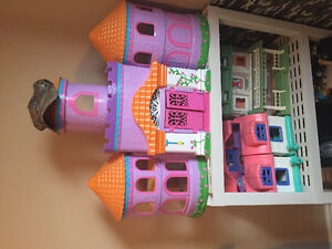 Doll Houses x 3