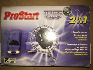 Remote Starter - ProStart 2-in-1 Smart Start - CT-3371