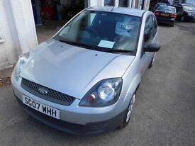 2007 FORD FIESTA 1.3 PETROL MANUAL 3 DOOR HATCHBACK IN SILVER