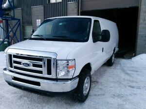2013 FORD E250 ALLONGÉE FOURNGONNETTE