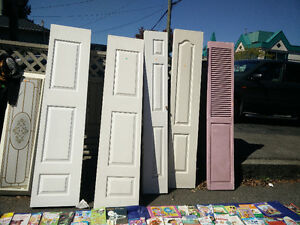 Closet doors different size for sale