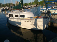 Grampian 26 sailboat - start sailing today!