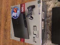 320gb PS3 slim Matt black