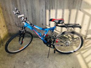 Suspension Bike 26 Frame size BLUE
