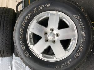 2008 jeep rims and tires