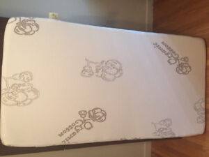 Mint condition organic baby mattress and cover used ones
