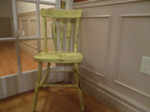 Distressed Rustic Chair