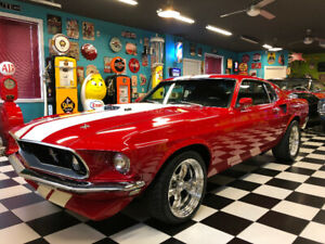 Ford Mustang Mach1 1969, Show Car!