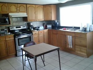 2 bdrm with office/den includes heat,hydro,cable tv and internet