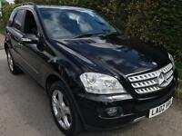 Mercedes-Benz ML320 3.0TD CDI 7G-Tronic Sport **PRIVATE PLATE INCLUDED**