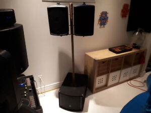 Powered Yorkville Speakers - will trade for...