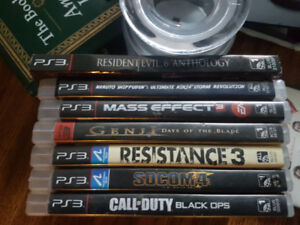 Ps3 games - $5 each or give me an offer for the set