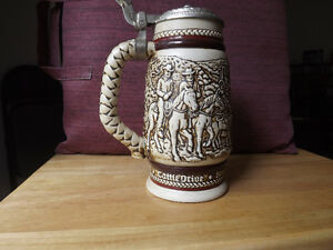 "FS: 1981 Avon Numbered Edition ""The Chuck Wagon"" Beer Tankard London Ontario image 3"