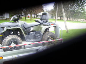 package deal atv and trailer