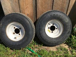 trailer wheels 5.70-8