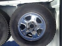 4 tires and rims foresale
