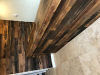 Reclaimed Barnboard Feature Walls. Home. Business. Commercial