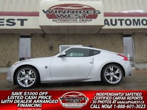 2011 Nissan 370Z TOURING ED WITH SPORT PKG, INJEN UPGRADES & 6 S