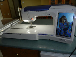 Brother Quattro 6000D Embroidery/Sewing Machine