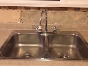 Used Kitchen Sink and taps