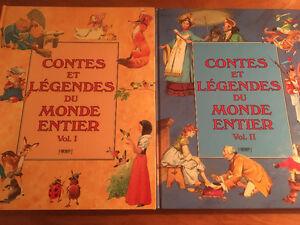 Contes et légendes du monde entier Tomes 1 et 2