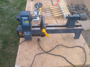 12in Lathe and tools