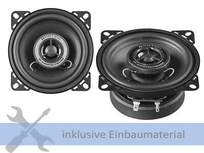Helix Lautsprecher MS4X 180W 100 mm 2 Wege Koax für Mercedes CLK Cabrio A208