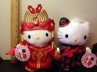 Collectible Hello Kitty in Chinese Wedding dress