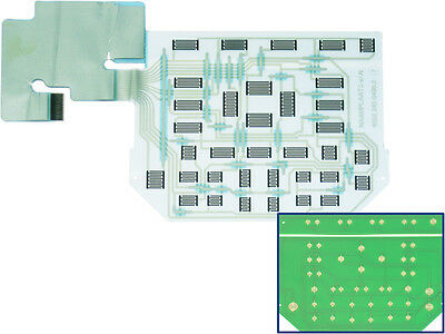 Fluke 192b 196b 196c 199b 199c Scopemeter Keypad Contact Board Replaces Foil