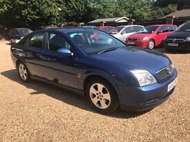 2002 Vauxhall Vectra 1.8 i 16v Club 5dr