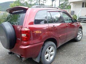 2004 Toyota RAV4 Ltd/Chili SUV, Crossover