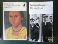 Romans / Livres pour cours de français (niveau Cégep)