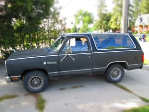 dodge  ramcharger  for  sale