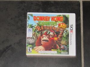 Nintendo 3DS Donkey Kong Country Returns 3D Game