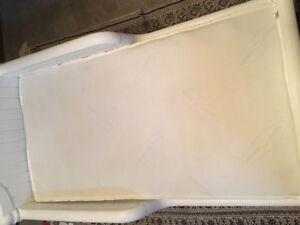 Graco Toddler Bed with Sears-O-Pedic Mattress