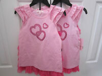 """""""Jona Michelle"""" 2-Piece Top and frilly skirt set, size 10, BNWT"""